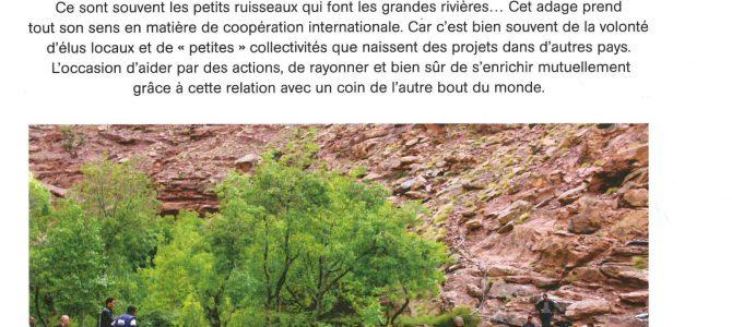 Article dans «La Mairie» Magazine