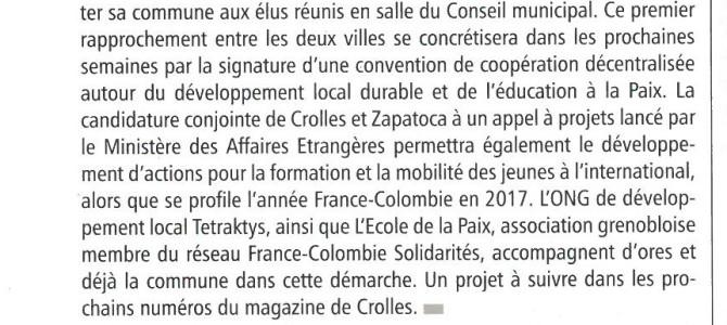 Article Magazine de Crolles