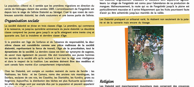 Quatre ethnies minoritaires du Sénégal Oriental