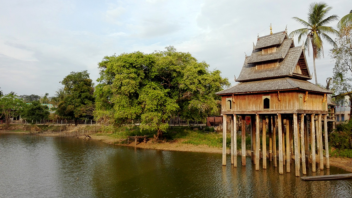 Hottay Pidock Savannakhet Laos Xe Champhone