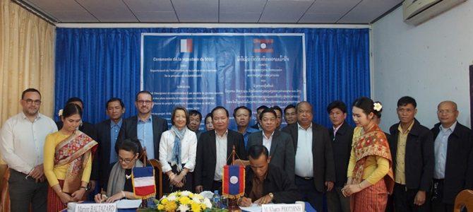>> Signature du MoU entre la Province de Khammouane et Tétraktys <<